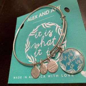 "Alex and Ani ""It Is What It Is"" Bracelet"